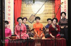 越南非物质文化遗产——歌筹艺术(组图)