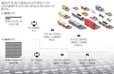 图表新闻:越南汽车进口量较2018年增长113%