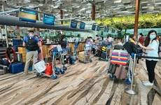在新加坡的300名越南公民已安全回国