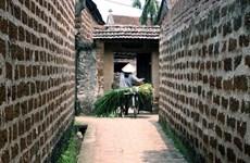 访问河内市唐林古村最古老的建筑