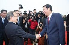 越南芒街-中国东兴口岸北仑河二桥正式开通