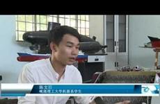岘港市大学生的环保垃圾收集迈进4.0时代