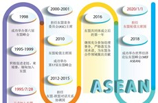 图表新闻:越南——积极主动的东盟成员国