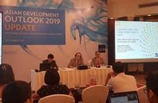 亚洲开发银行预测2019年越南经济增长率达6.8%