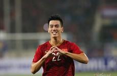 越南队以1比0战胜阿联酋队