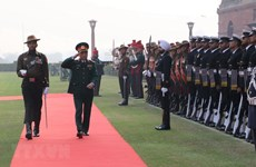 组图:越南与印度进一步加强全面战略伙伴关系