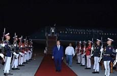 组图:越南政府总理阮春福开始对缅甸联邦共和国进行正式访问