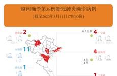 图表新闻:越南确诊第38例新冠肺炎确诊病例