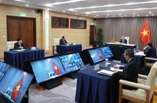 组图:越南政府总理阮春福出席不结盟运动视频峰会