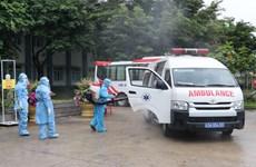 组图:岘港市设立野战医院  提高新冠肺炎救治水平