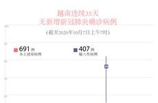 图表新闻:越南连续35天无新增新冠肺炎确诊病例