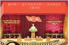 图表新闻:越共第十二届中央委员会第十三次全体会议主要内容