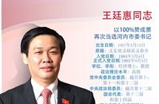 图表新闻:王廷惠再次当选河内市委书记