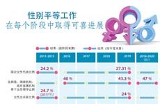 图表新闻:越南在执行性别平等工作中取得可喜成就