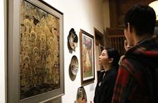 """""""从传统到传统""""画展在河内古街区南香亭举行"""