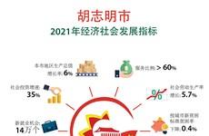 图表新闻:胡志明市2021年经济社会发展指标