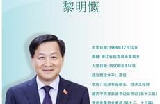 图表新闻:黎明慨被任命为越南社会主义共和国政府副总理