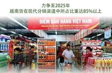 图表新闻:越南力争至2025年国货在现代分销渠道中所占比重达85%以上