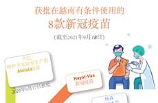 图表新闻:越南卫生部有条件批准第8款新冠疫苗