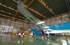 越南与新加坡合作开展飞机保养维修活动