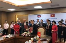 越南与英国加强教育培训合作