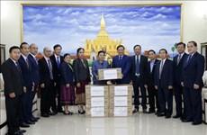 越南与老挝携手抗击新冠肺炎疫情