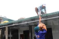 各组织和个人承诺向广治省提供800亿越盾的援助 用于开展灾后重建工作