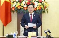 国会主席王廷惠会见科技应用优秀企业领导