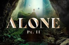 山洞窟出现在艾兰•沃克的新歌曲视频中