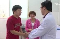 在越南确诊患有新冠肺炎的第二名中国人治愈出院