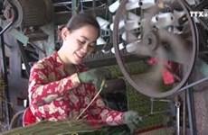 怀仁村的凉席编织业闻名远近