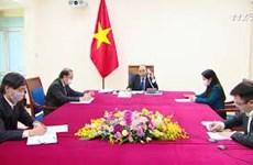 越南与澳大利亚两国总理通电话