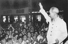 组图:在抗美救国和北部社会主义建设事业中的胡主席形象(1955 -1960年阶段)