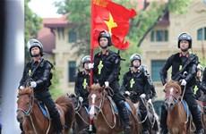 组图:越南机动警察骑兵队正式亮相