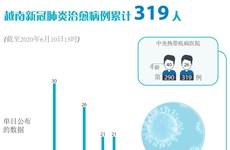图表新闻:越南新冠肺炎治愈病例累计319人