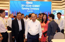 组图:政府总理阮春福就第36届东盟峰会准备工作进行视察