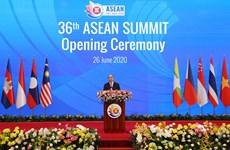 阮春福总理主持第36届东盟峰会开幕式与全体会议