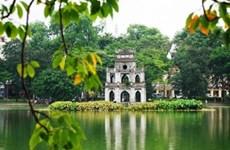 首都河内迎接2020年'冲年喜'的首位国际游客