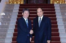 日本外务大臣茂木敏充对越南进行正式访问