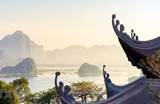 组图:欣赏三祝旅游区仙境般的美景