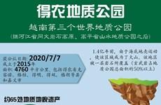 图表新闻:得农地质公园——越南第三个世界地质公园