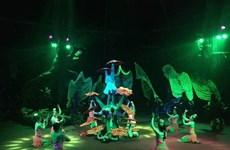 《湄公秀》——越南当代杂技与水木偶相结合的表演