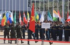 组图:越南出席俄罗斯2020年国际军事比赛