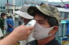 岘港市为渔民做好防疫安全措施