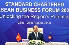 阮春福总理在2020年渣打银行东盟商业论坛上发言