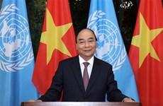 阮春福以提交讲话录像的方式参与第75届联大系列高级别会议