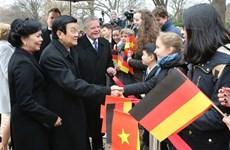 组图:越德建交45周年:两国战略伙伴关系不断向前发展
