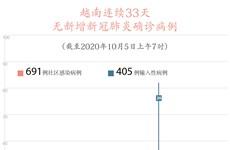 图表新闻:越南连续33天无新增新冠肺炎确诊病例