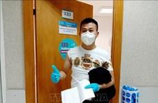 旅居莫斯科越南人参加新冠疫苗接种活动