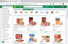 线上买菜服务受越南消费者的青睐